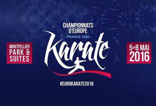 Campeonato de Europa de Karate en Montpellier