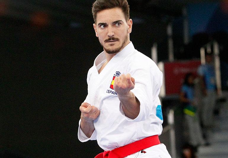 Damian Quintero Karate Olimpico 2020
