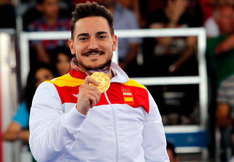 damian quintero karate español medalla