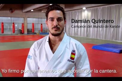 Damián Quintero #YoFirmo Youth Employment Decade Campaign