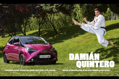 Personaje del número de noviembre de Marca Motor