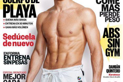 Quintero, hombre Men's Health del mes de junio