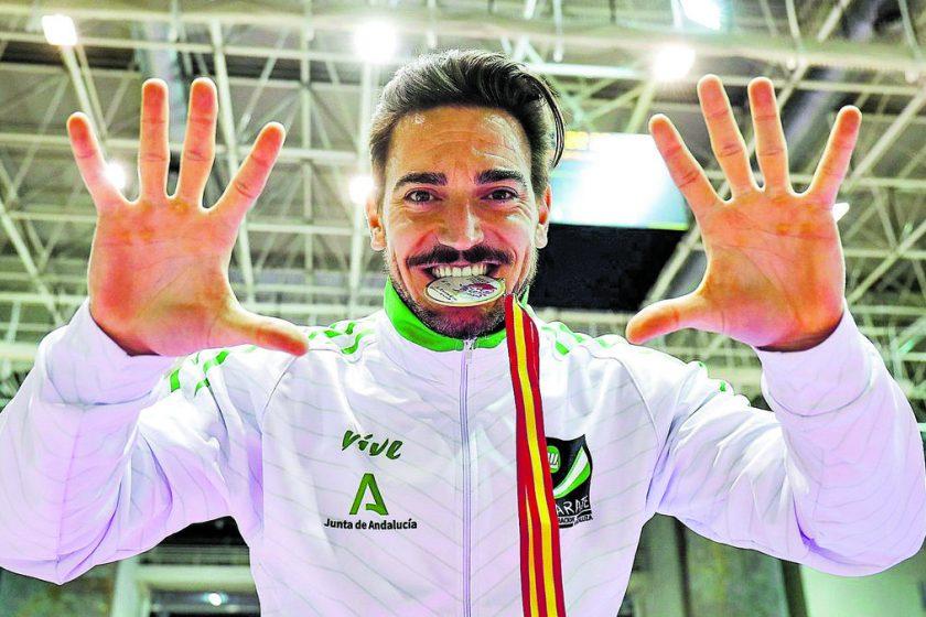 Damián Quintero, Campeón de España Senior por décima vez