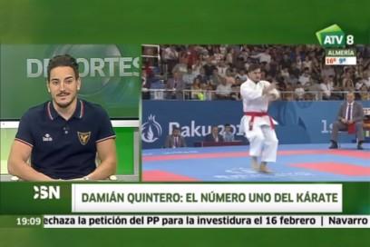 Damián Quintero, un malagueño número 1 mundial de kárate