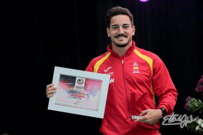 Campeón de la Liga Mundial por tercer año consecutivo