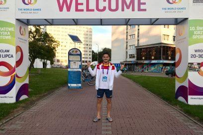 Damián Quintero debuta este martes en los World Games de Polonia