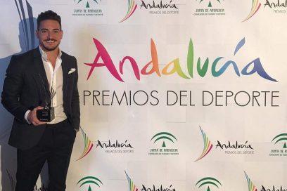 Premio de la Junta de Andalucía como mejor deportista masculino de 2016