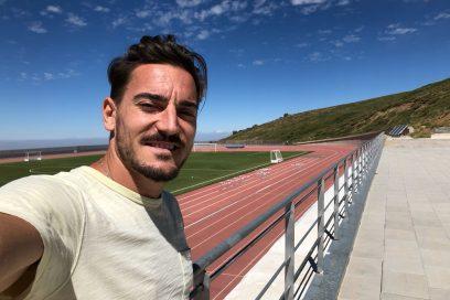 """Damián Quintero se entrena en el CAR de Sierra Nevada: """"Hay que seguir luchando por subir al pódium en cada prueba"""""""