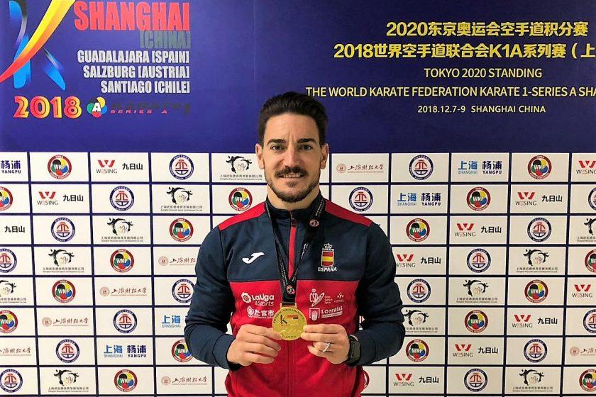 Quintero se cuelga el oro en Shanghai y cierra el año como mejor karateca de todos los tiempos en su modalidad