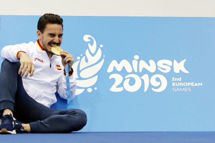 Damián Quintero logra el oro en los Juegos Europeos de Minsk